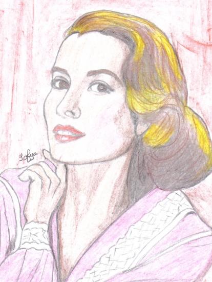 Grace Kelly by Sofya